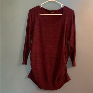 Maurices Sweaters - Plus Size cinched sided Sweater